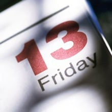 Fear of Friday The 13th Phobia - Paraskevidekatriaphobia or Friggatriskaidekaphobia
