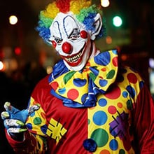 Fear of Clowns Phobia - Coulrophobia
