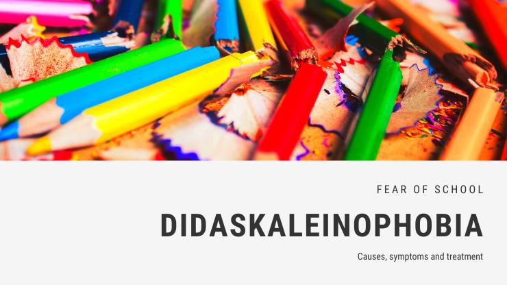 Didaskaleinophobia