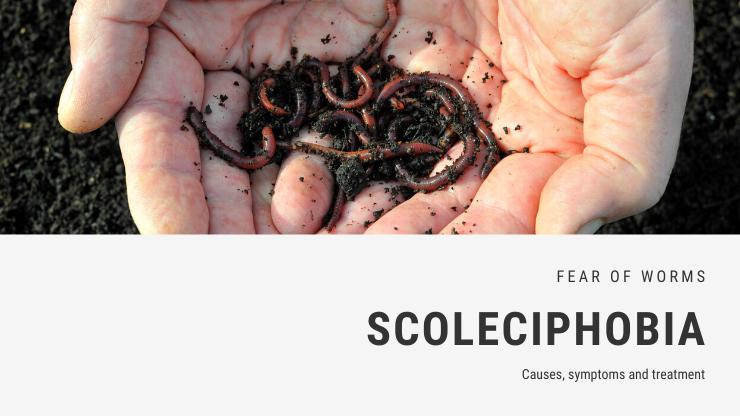 Scoleciphobia